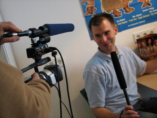 Moderator und Chefredakteur Philipp Beisteiner